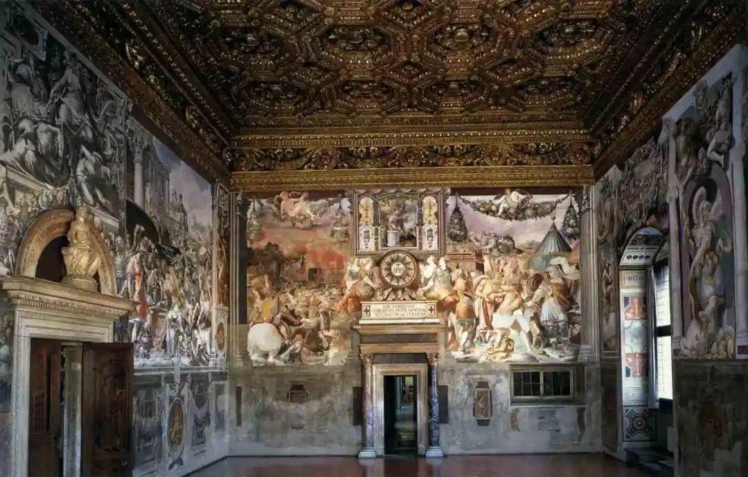 佛罗伦萨老宫正义大厅系列壁画:不可不知的画里画外故事